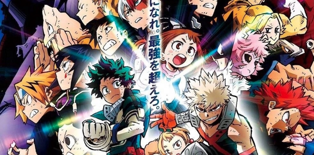 The Cast Of My Hero Academia On The New Heroes Rising Movie