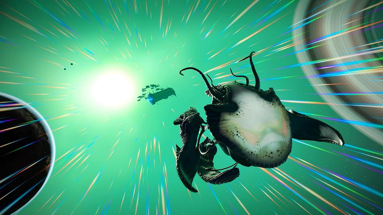 no mans sky living ship update