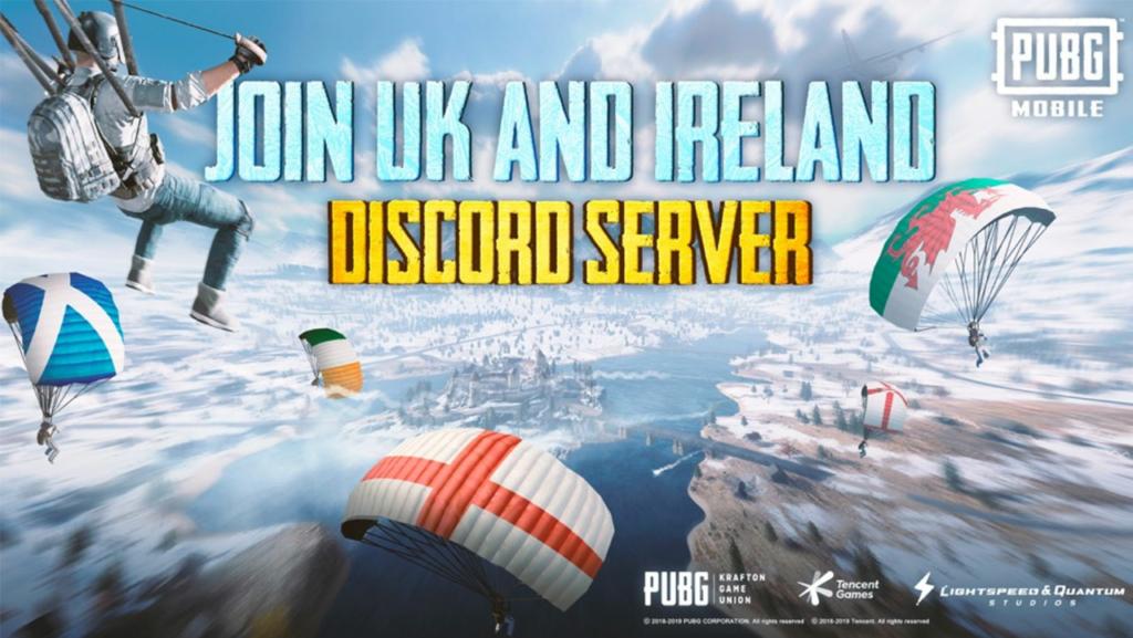 PUBG Mobile UK Discord server