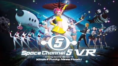 Photo of You Have Less Than a Month to Prepare for Space Channel 5 VR
