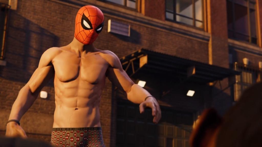 spider man nipples