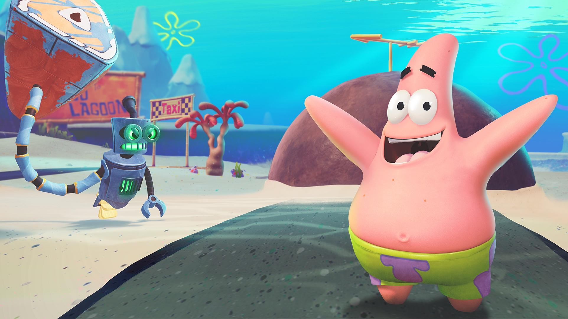 spongebob squarepants battle for bikini bottom