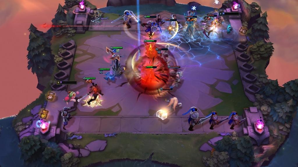 teamfight tactics mobile gameplay