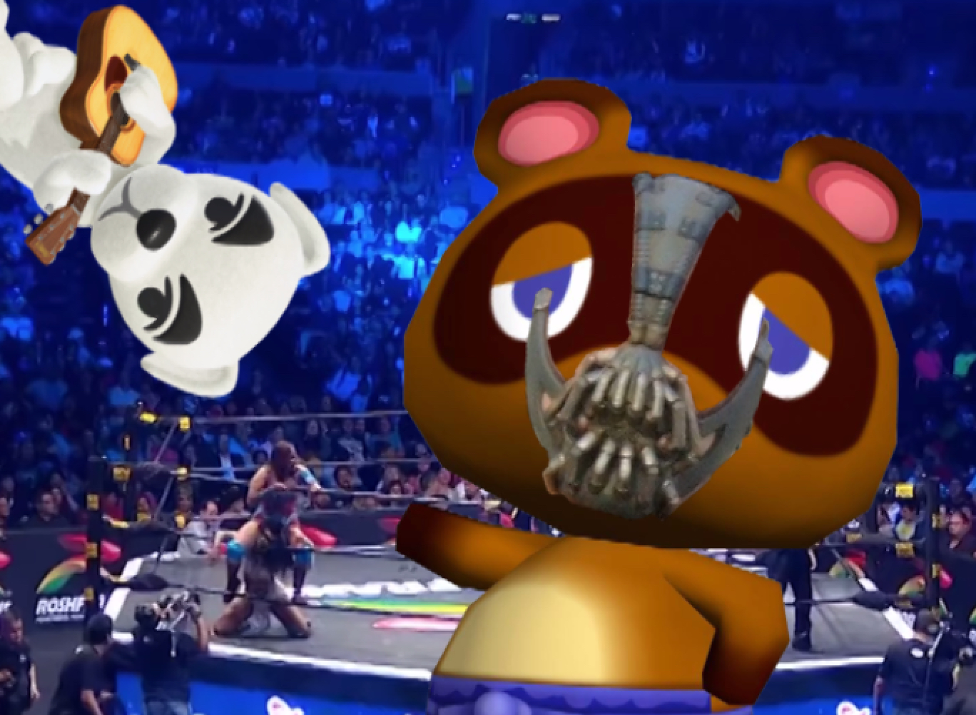 tom nook wrestling