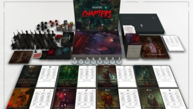 Photo of Vampire: The Masquerade Board Game Funded In 90 Minutes