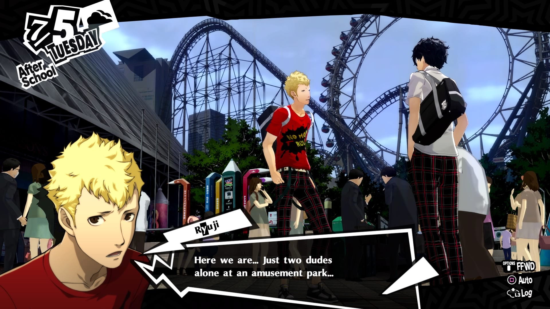 Persona 5 Royal's Himbos Are Too Dumb to See I'm Hitting On Them
