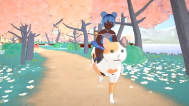 Photo of Play a Magical Girl Cat Cafe Owner With a Cat on Your Head in Calico