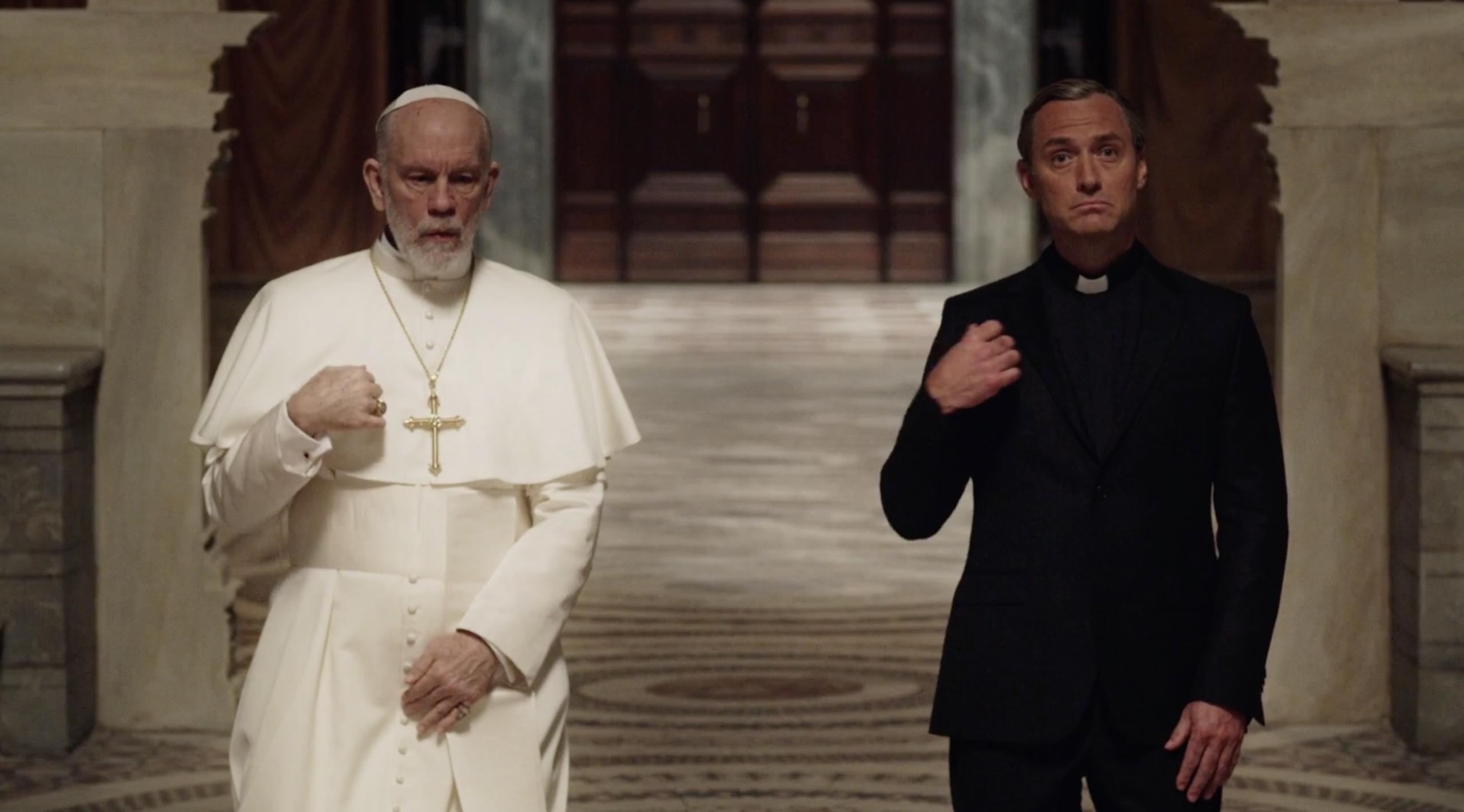 lenny and john new pope