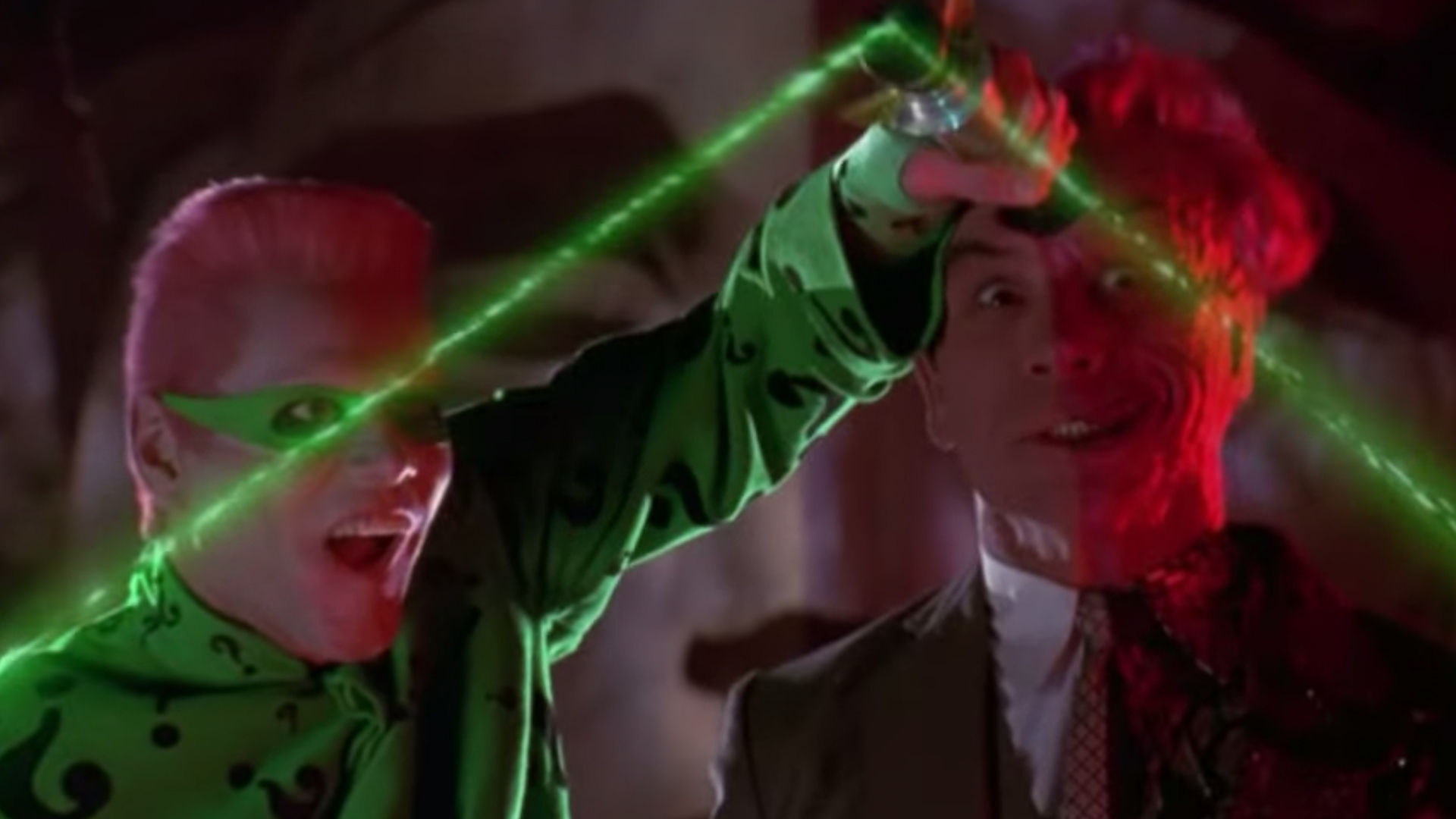 riddler and two face batman forever
