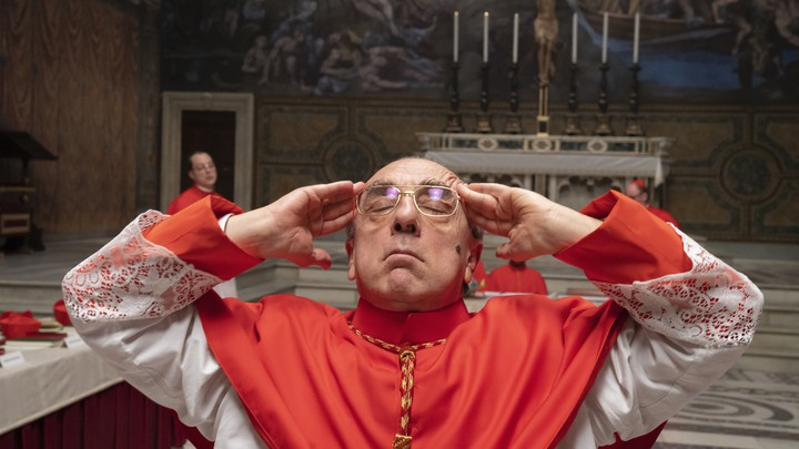 the new pope voiello exasperated