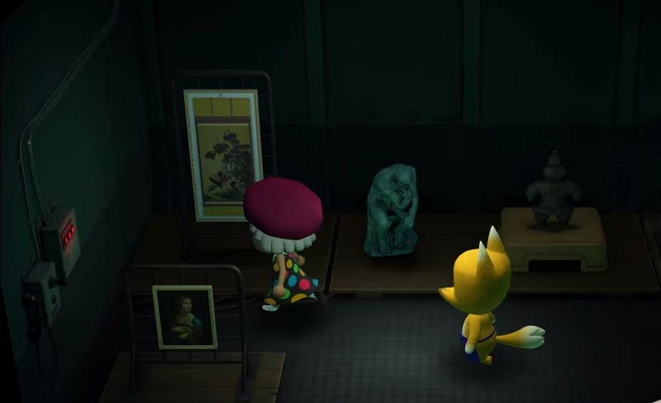 Animal Crossing New Horizons Fake Art