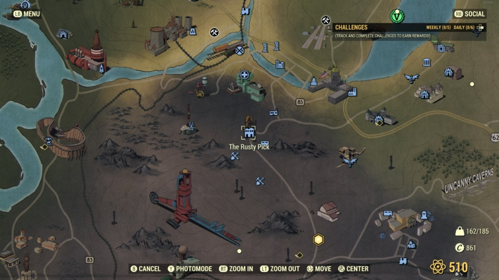 Fallout 76 Purveyor Location