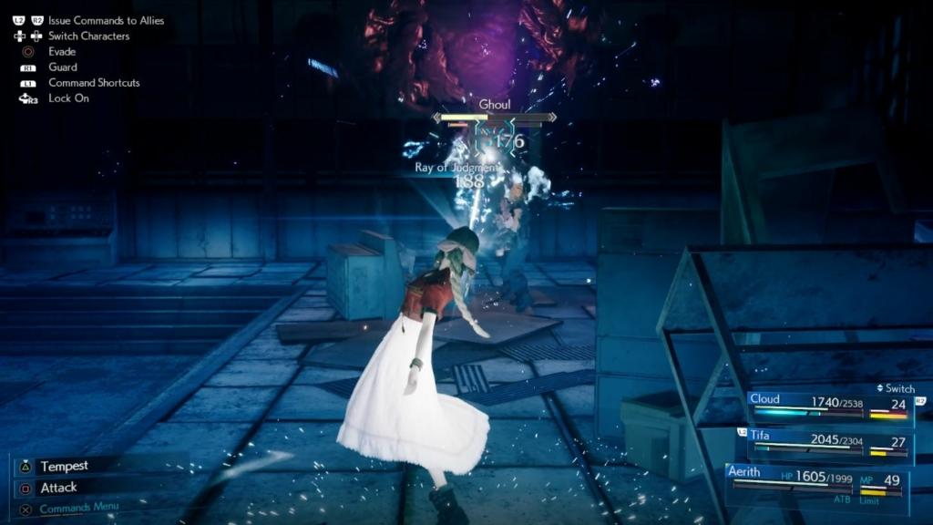 Final Fantasy 7 Remake Ghoul