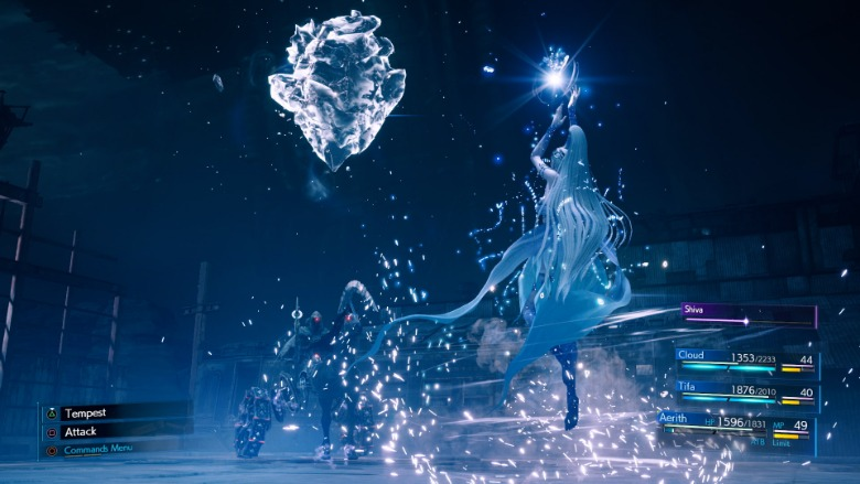 Final Fantasy 7 Remake Shiva