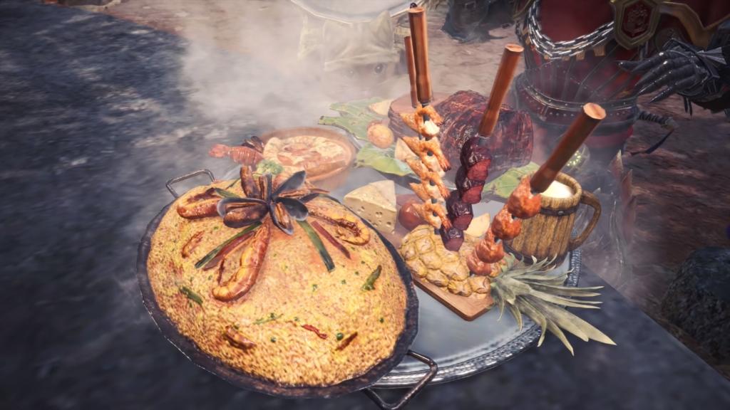 Monster Hunter Food