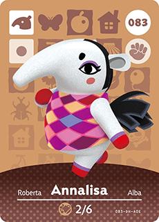 Animal Crossing Annalisa