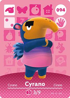 Animal Crossing Cyrano