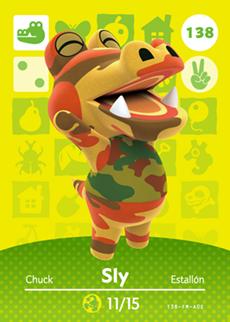 Animal Crossing Sly