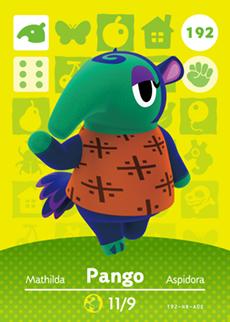Animal Crossing Pango
