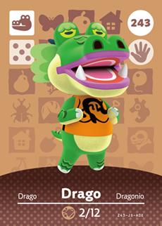 Animal Crossing Drago