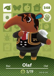 Animal Crossing Olaf
