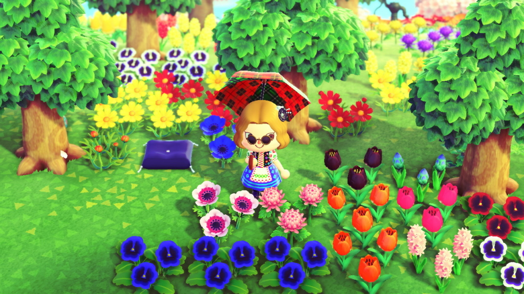 animal crossing pansies
