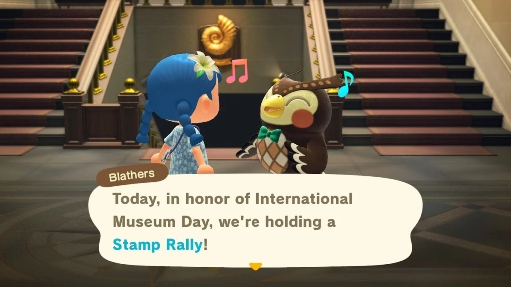 animal crossing stamp rally
