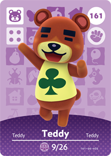 animal crossing teddy