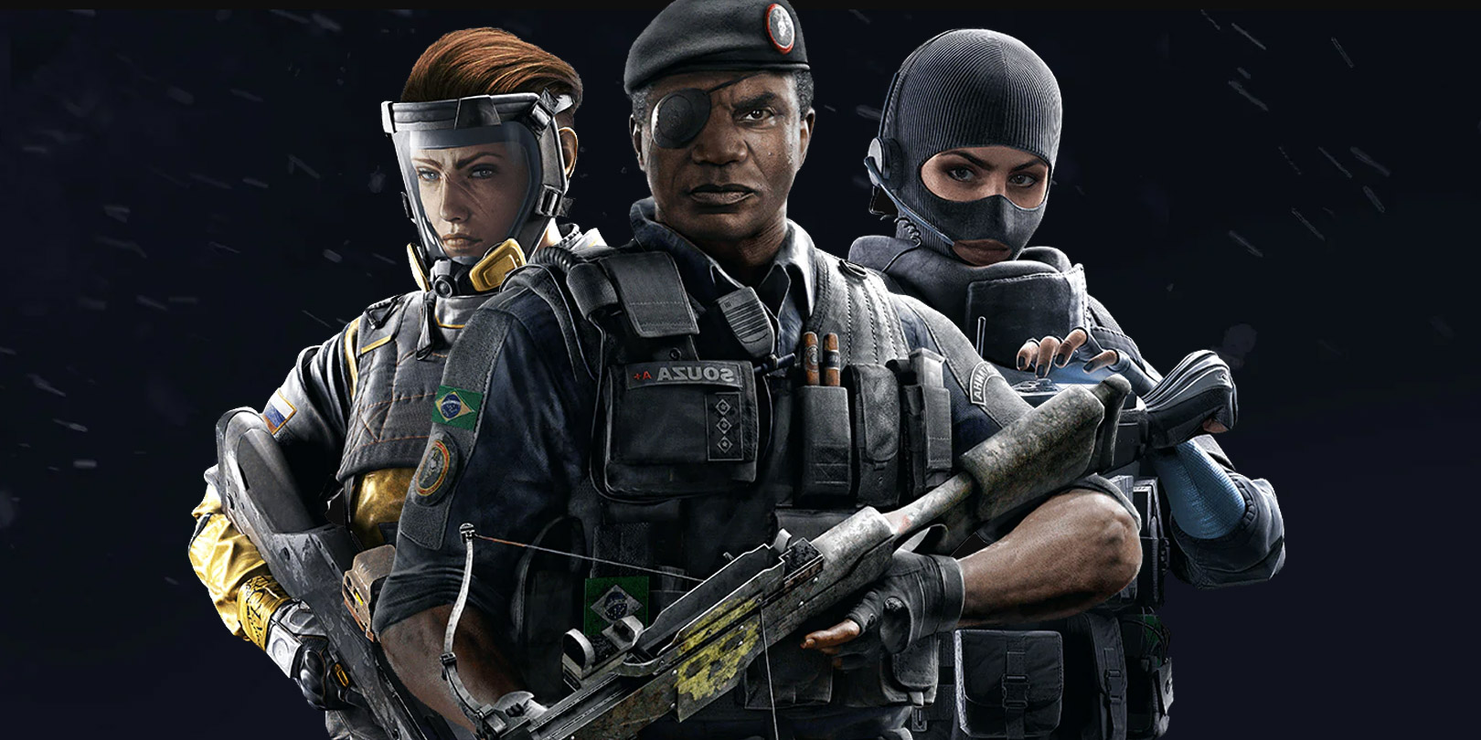 rainbow six siege attackers