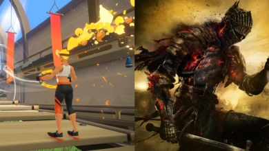 Photo of Modder Makes Dark Souls a Workout Game Using Ring Fit