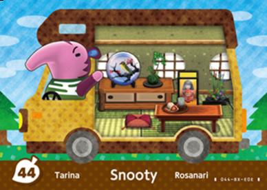 Animal Crossing Snooty
