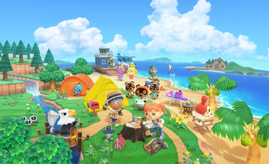Animal Crossing Key Art
