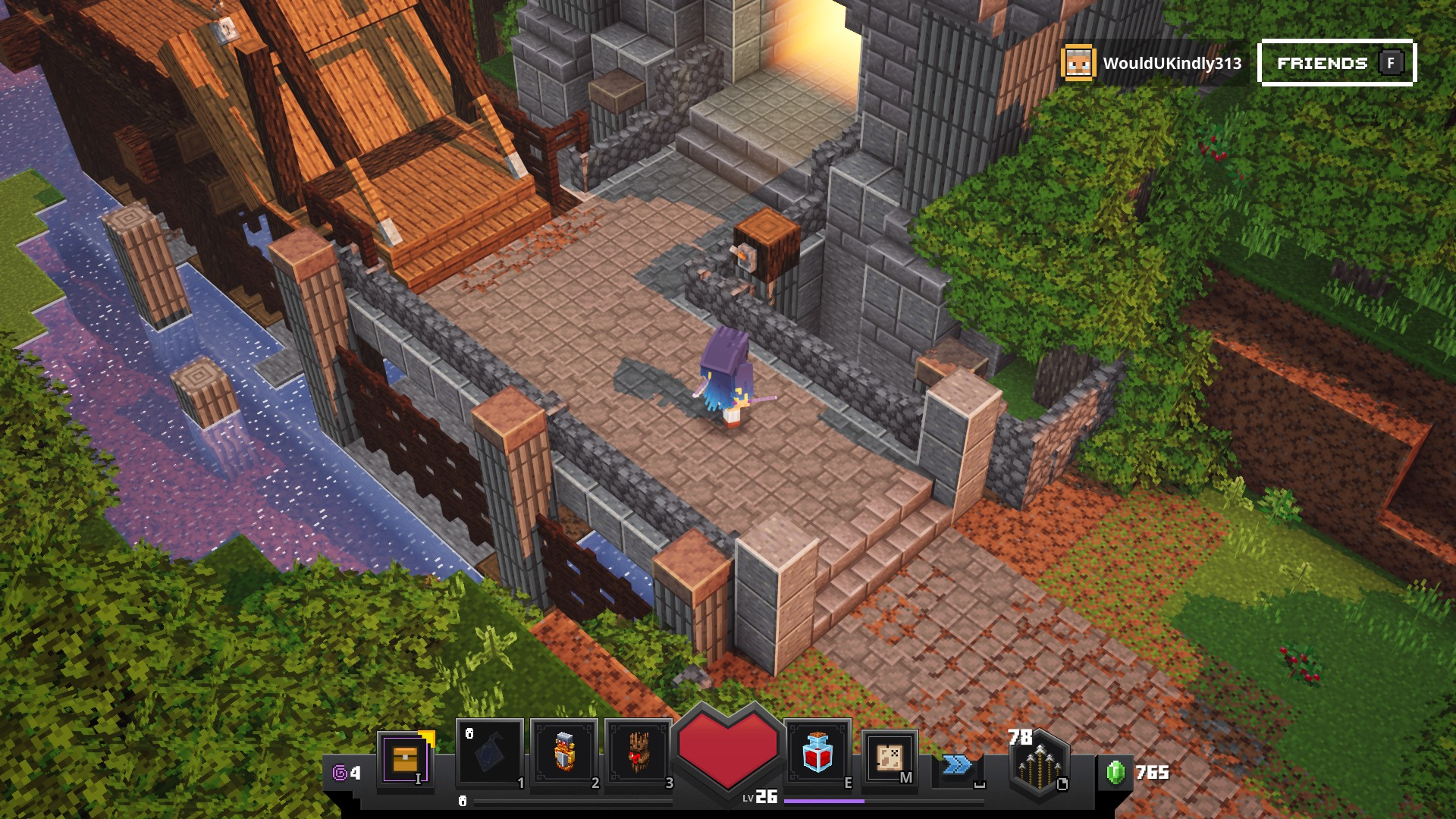 Minecraft Dungeons Lower the Drawbridge