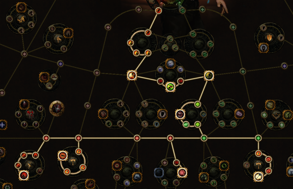 Path of Exile 34 Point Skill Tree