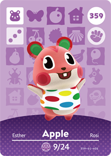 animal crossing apple