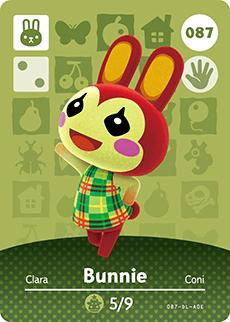 animal crossing bunnie