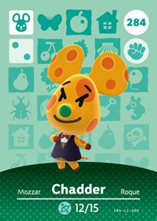 animal crossing chaddar