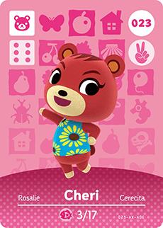 animal crossing cheri