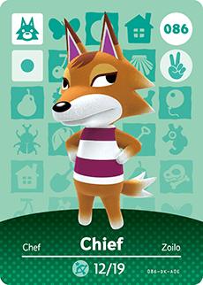 animal crossing chief