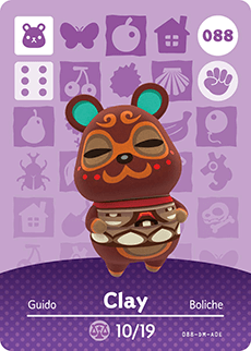 animal crossing clay