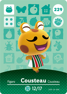 animal crossing cousteau