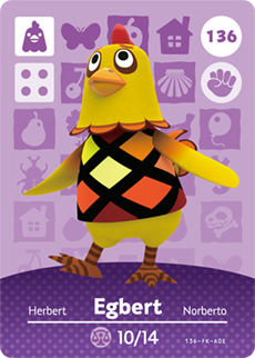 animal crossing egbert