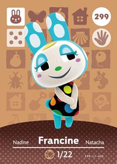 animal crossing francine