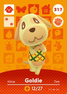 animal crossing goldie