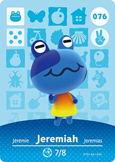 animal crossing jeremiah