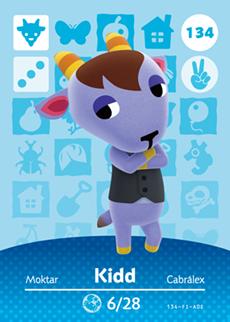 animal crossing kidd