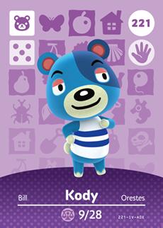 animal crossing kody