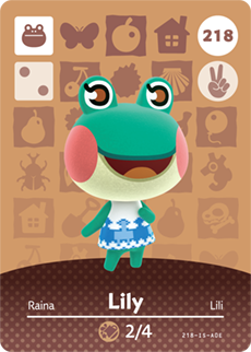 animal crossing lily