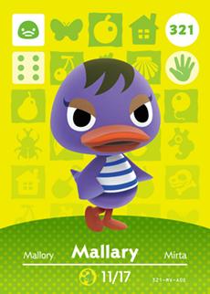 animal crossing mallary