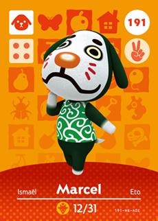 animal crossing marcel